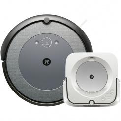 iRobot Roomba i3 Neutral a Braava jet m6