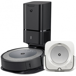 iRobot Roomba i3+ Neutral a Braava jet m6