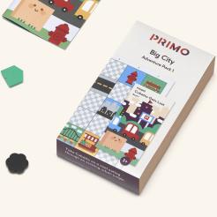Primo - Cubetto - dobrodružná mapa velkoměsto