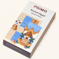 Primo - Cubetto - dobrodružná mapa starověkého Egypta