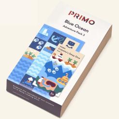 Primo - Cubetto - dobrodružná mapa oceán