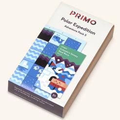 Primo - Cubetto - mapa polární expedice