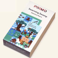 Primo - Cubetto - dobrodružná mapa bažina