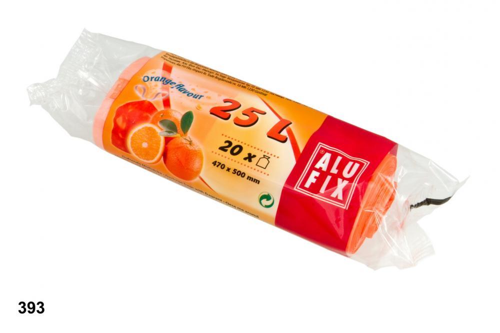 Pytle 25L do odpadkových košů s aroma pomeranče