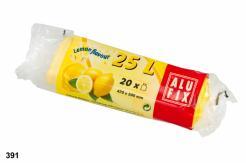 Pytle 25L do odpadkových košů s aroma citronu