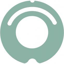 Kryt pro iRobot Roomba 500 a 600 - zelený