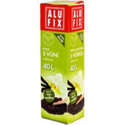 Pytle 40L do odpadkových košů se zatahovací páskou s aroma čaje s vanilkou