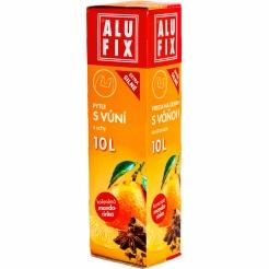Pytle 10L do odpadkových košů s uchy s aroma mandarinky