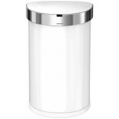Simplehuman SEMI-ROUND 45L - white