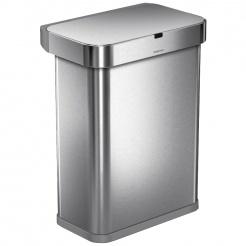 Simplehuman RECTANGULAR 58L - silver