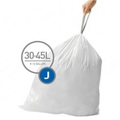 Pytle typu J do odpadkových košů Simplehuman - 20ks