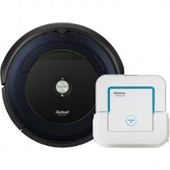 iRobot Roomba 695 + Braava jet 240