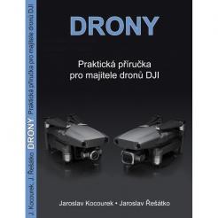 Kniha Drony - druhé vydání