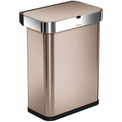 Simplehuman RECTANGULAR 58L - rose gold