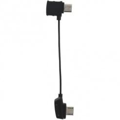 RC kabel s převráceným microUSB konektorem pro DJI Mavic