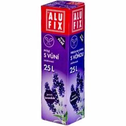 Pytle 25L do odpadkových košů se zatahovací páskou s aroma levandule