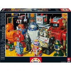 EDUCA Puzzle Roboti 1000 dílků