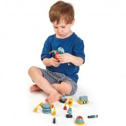 Tender Leaf Toys dřevěné retro postavičky
