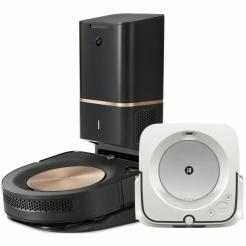 iRobot Roomba s9+ a Braava jet m6