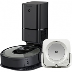 iRobot Roomba i7+ silver a Braava jet m6 + bonus v hodnotě až 6999,-