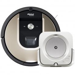 iRobot Roomba 976 a Braava jet m6