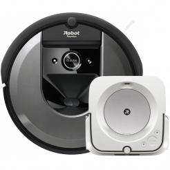 iRobot Roomba i7 grey a Braava jet m6