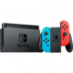 Nintendo Switch - Neon Red&Blue Joy-Con v2