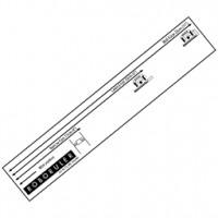 Pravítko pro instalaci obvodového drátu