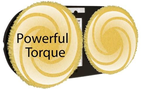 Powerful torque – účinější čištění