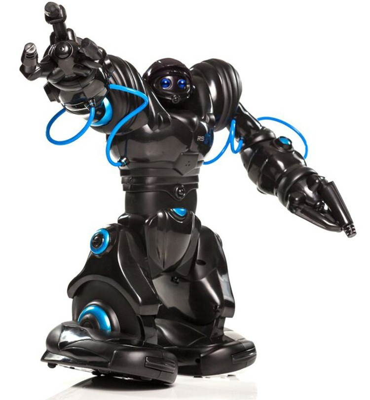Co umí WowWee Robosapien Blue?