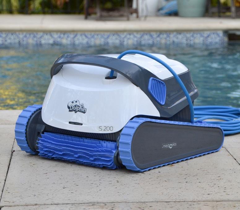 Představení bazénového vysavače Dolphin S200