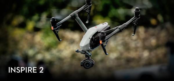 Představení drona Inspire 2