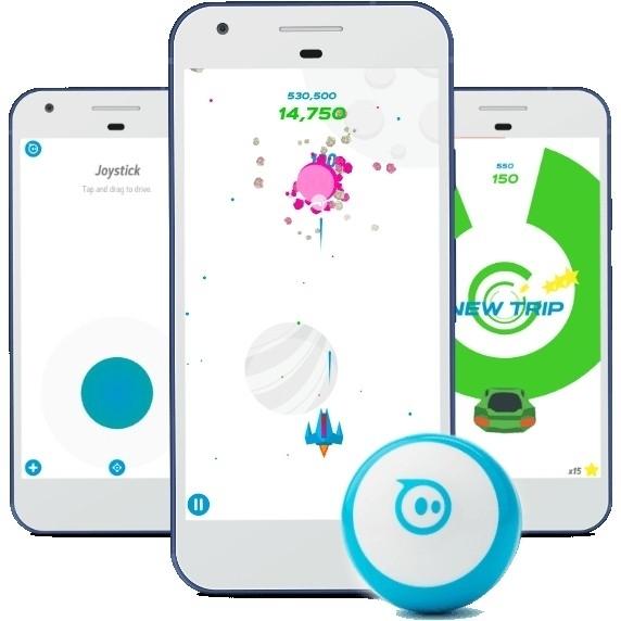 Aplikace Sphero Mini
