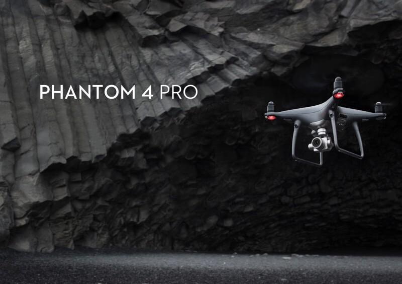 Představení drona DJI Phantom 4 Pro Obsidian Edition