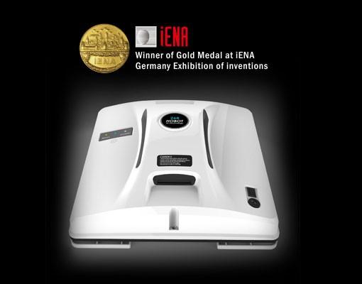 Získané ocenění zlatá medaile iENA
