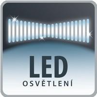Hubice s LED osvětlením
