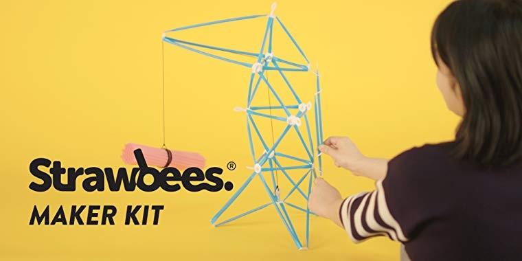 Probuďte v sobě vynálezce s konstrukční stavebnicí Strawbees
