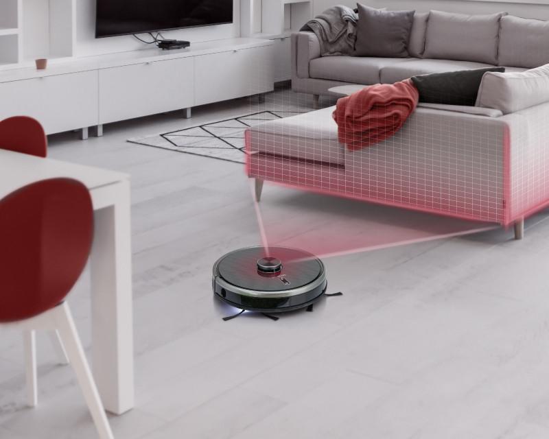 Představení robotického vysavače Concept VR3210 3v1