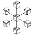 6-stranné spojovací bloky